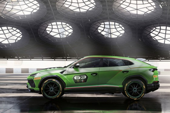 Next to the Huracan Super Trofeo series we'll might see an Urus ST-X series from 2020 on