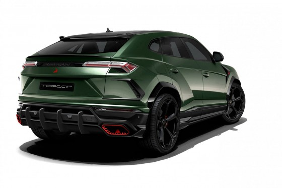 Just look at those amazing exhaust pipes from TopCar Design for the Urus