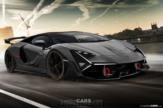 My hopes are set on the limited edition Lamborghini LB48H Hybrid supercar
