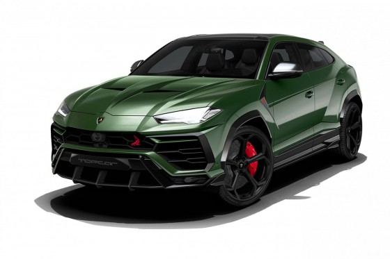 Preliminary front render from TopCar Design for their kit on the Lamborghini Urus