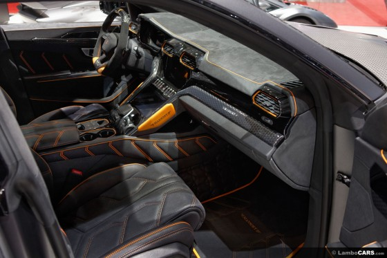 Mansory can create a totally bespoke interior inside your Lamborghini Urus