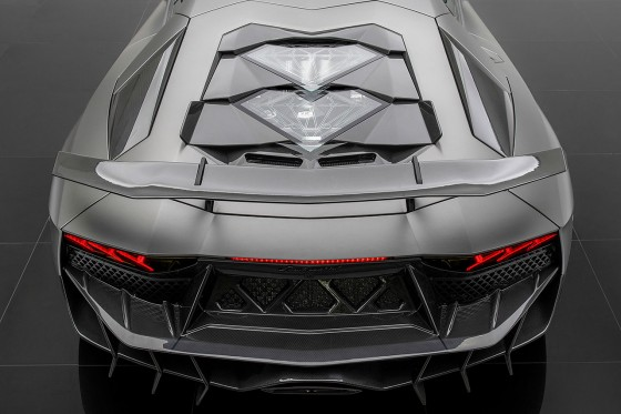 Onyx Concept came up with a very interesting restyle package for the Aventador