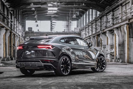 With 710 hp available the Urus by ABT Sportsline accelerates even faster